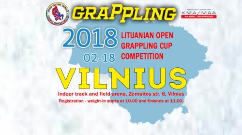 LITHUANIAN OPEN GRAPPLING CUP COMPETITION