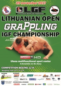 LITHUANIAN OPEN GRAPPLING IGF CHAMPIONSHIP