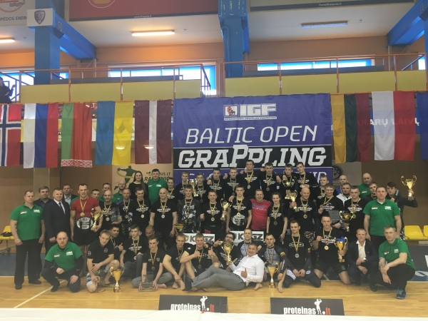 BALTIC OPEN GRAPPLING IGF CHAMPIONSHIP RESULTS