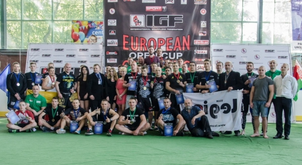 EUROPEAN OPEN CUP GRAPPLING (Bialystok, Poland) Results