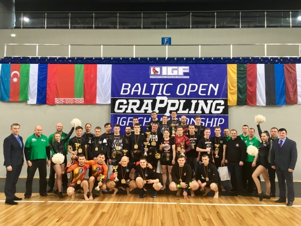 BALTIC OPEN GRAPPLING CHAMPIONSHIP RESULTS
