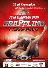 EUROPEAN OPEN GRAPPLING GI / NOGI CHAMPIONSHIP